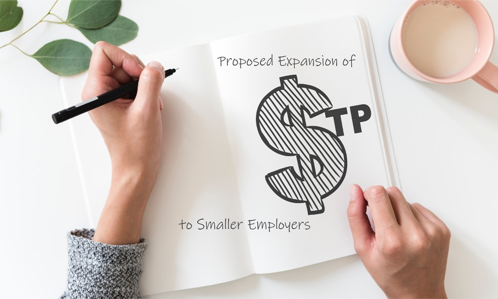 HartPartners - Proposed Expansion of STP to Smaller Employers